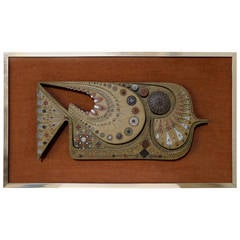 Wall Sculpture by Giovanni Schoeman
