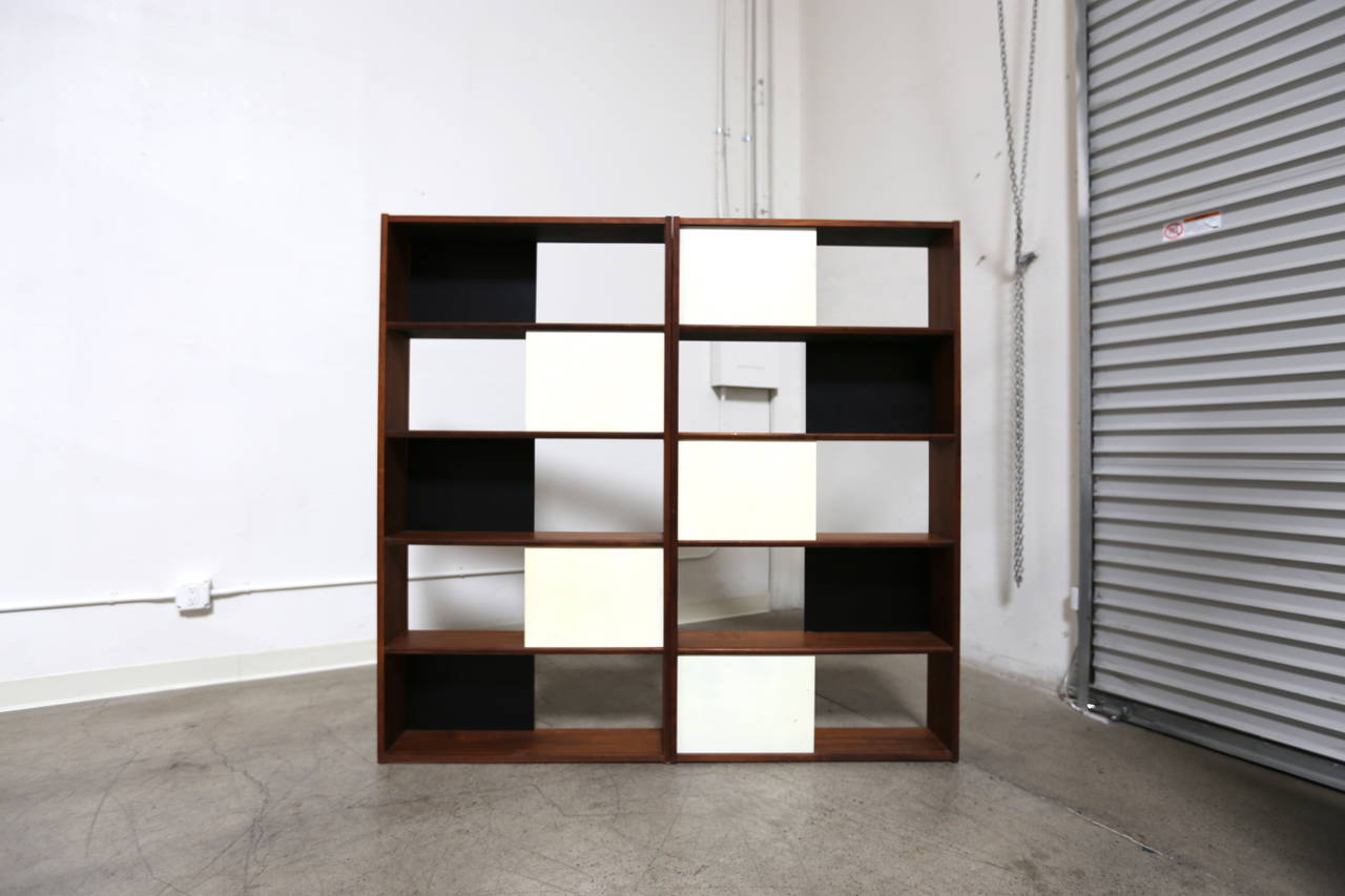 Hinged Bookcase by Evans Clark 2