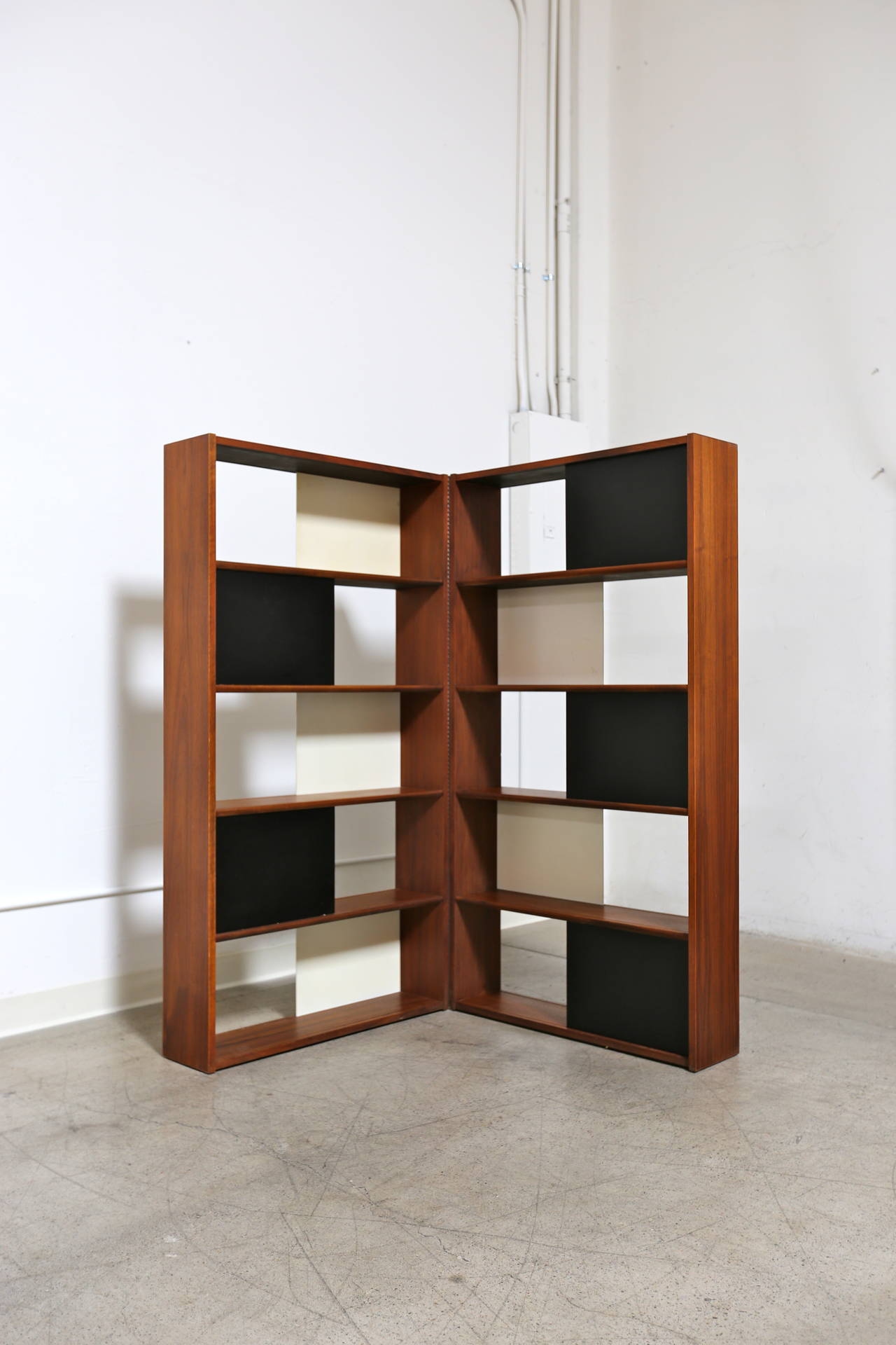 Hinged Bookcase by Evans Clark 7