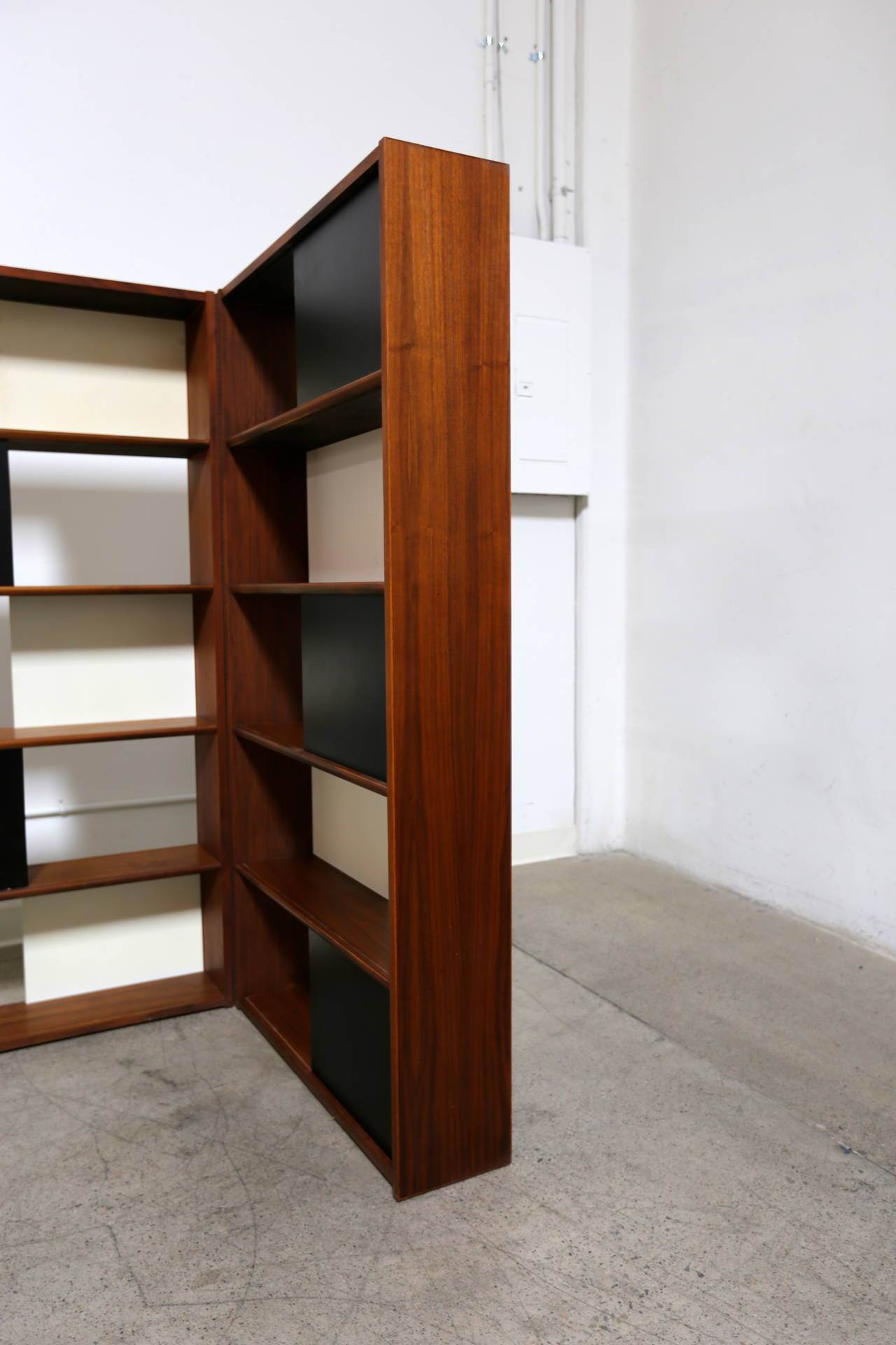 Hinged Bookcase by Evans Clark 8