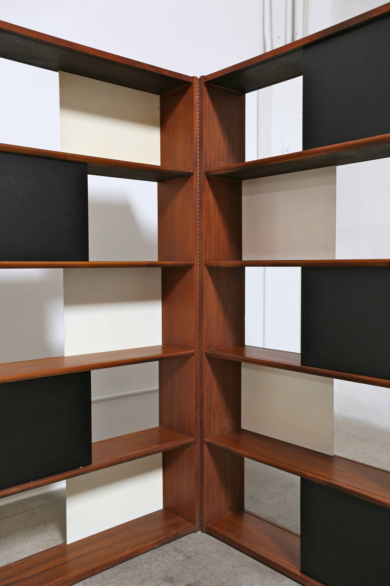 Hinged Bookcase by Evans Clark 4