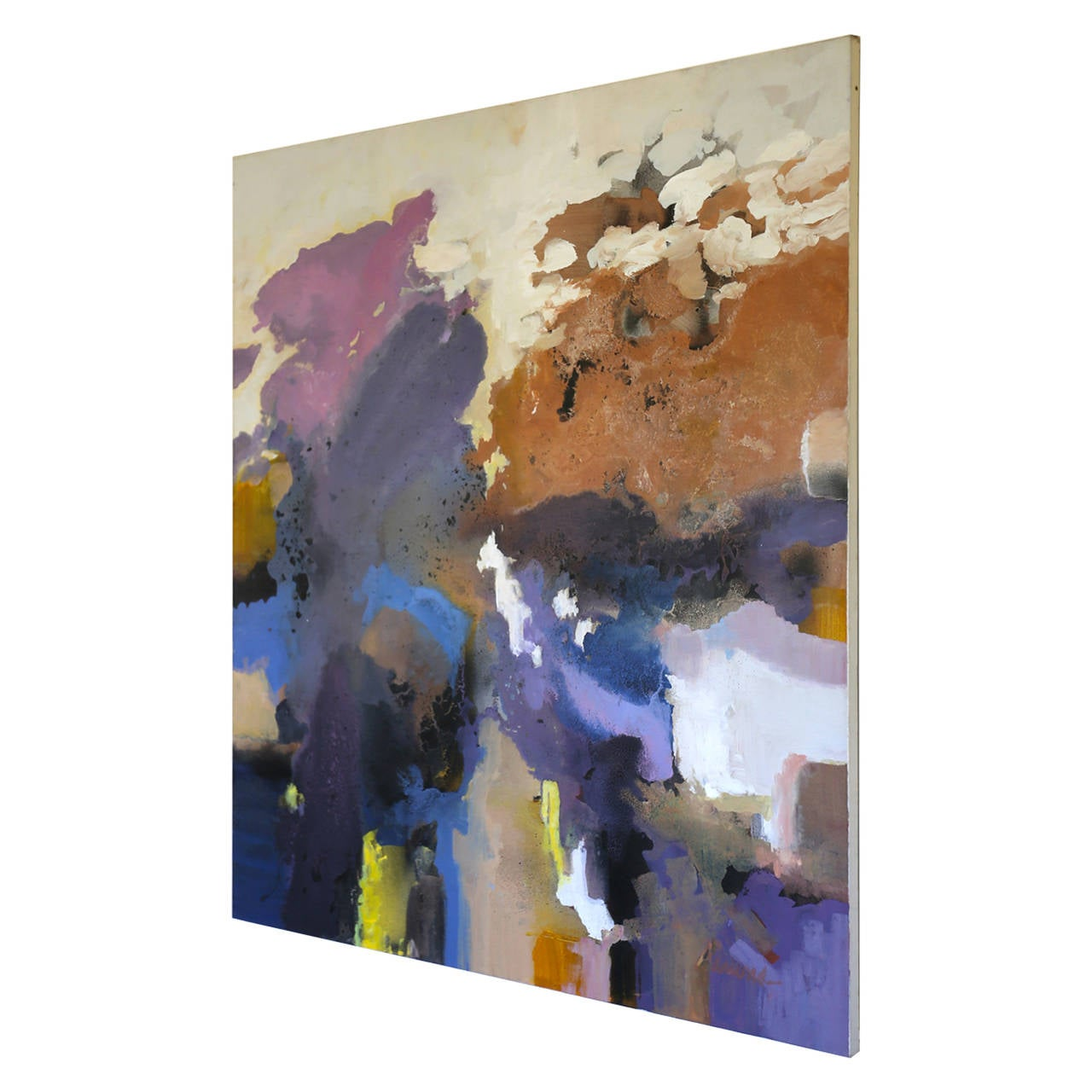 Large-Scale Signed Abstract Painting