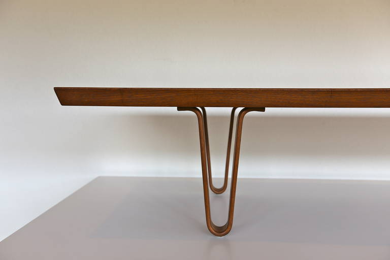 Long John Bench Or Coffee Table By Edward Wormley At 1stdibs