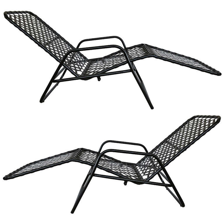 Pair Of Quot Zero Gravity Quot Lounge Chairs By Brown Jordan At