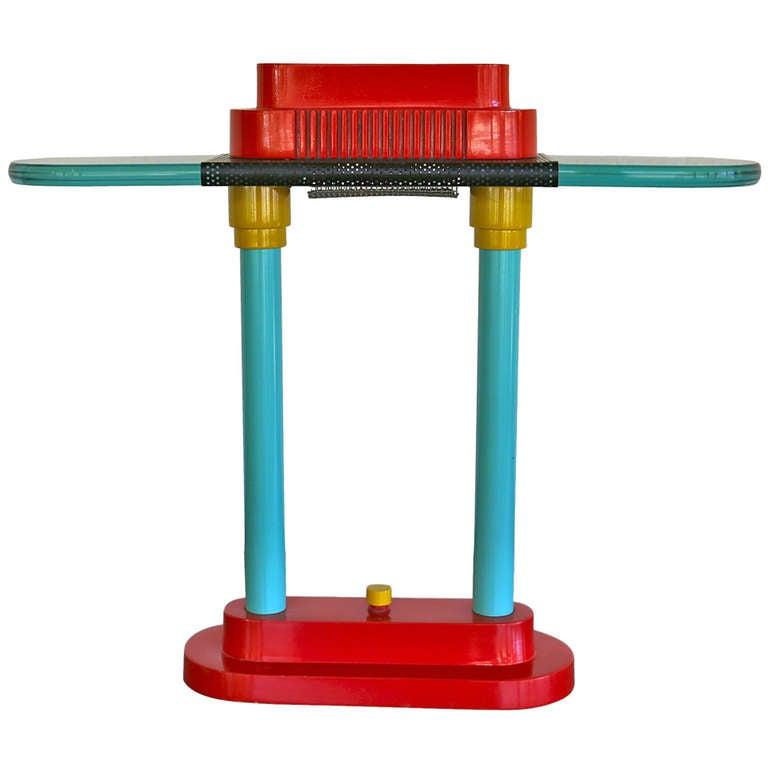 Memphis Style Table Lamp By Robert Sonneman For George Kovacs 1