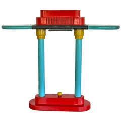 Memphis Style Table Lamp By Robert Sonneman For George Kovacs