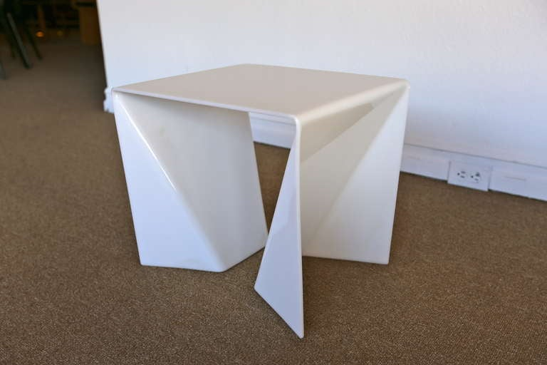Neal Small Quot Origami Quot Side Table At 1stdibs