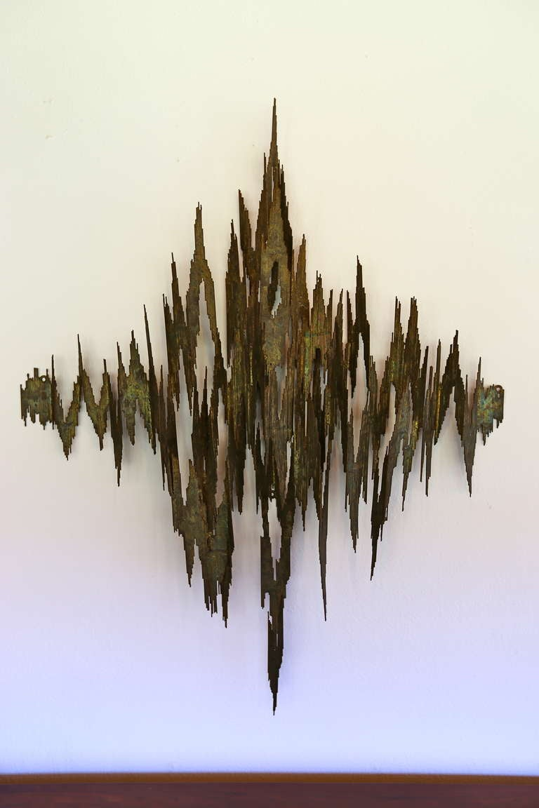 Brutal Wall Hanging Sculpture 2