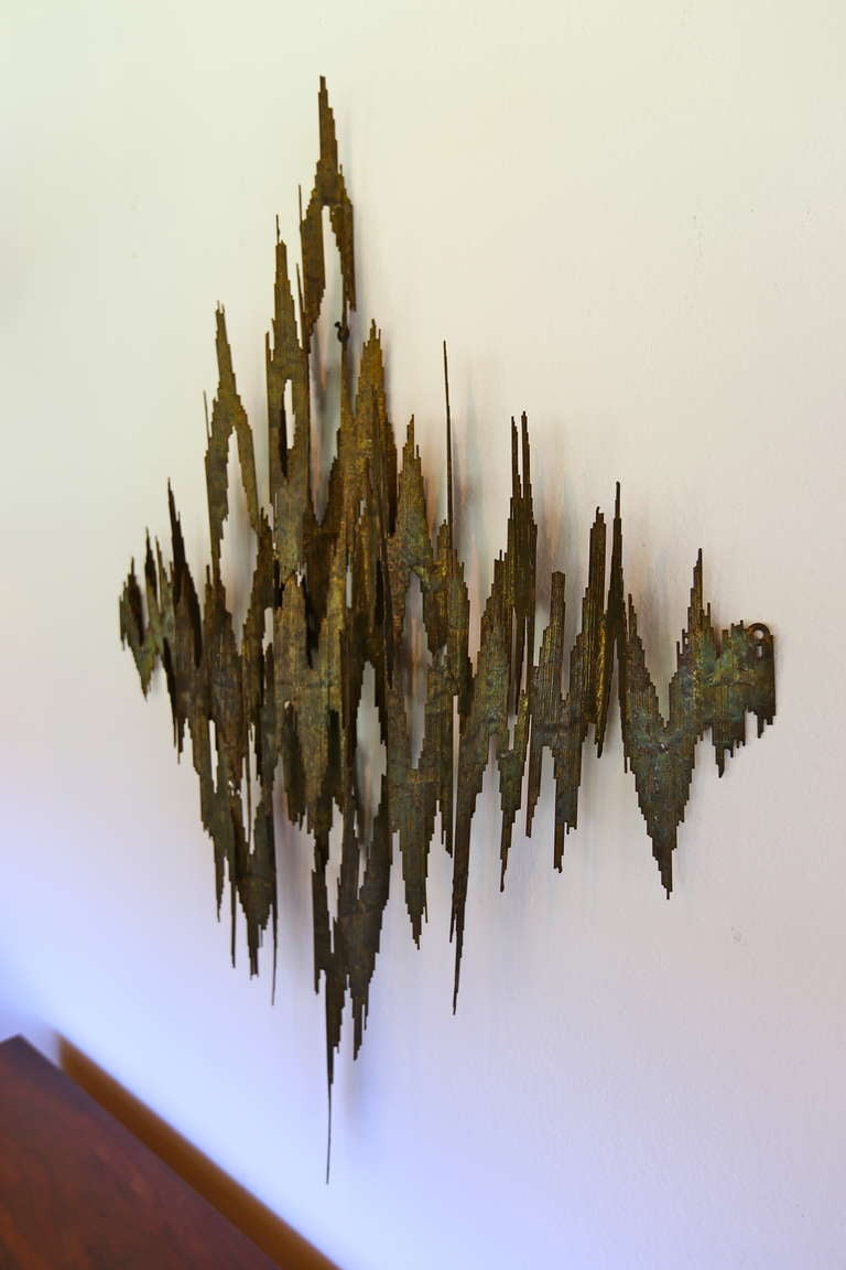Brutal Wall Hanging Sculpture 4