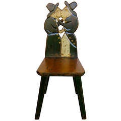Outsider Handcrafted Folk Art Chair