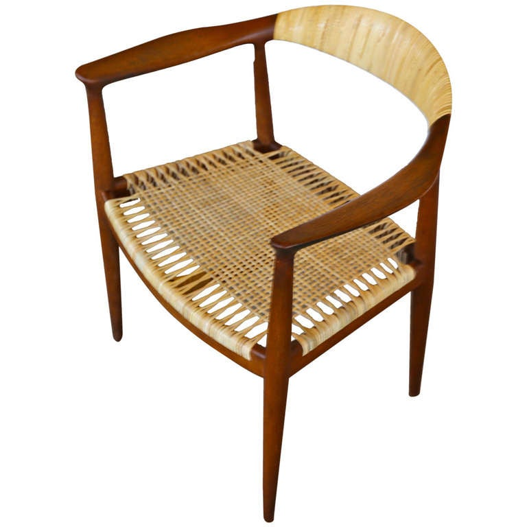 """the """"round chair"""" by hans j. wegner at 1stdibs"""
