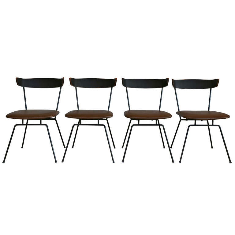 Set Of Four Dining Chairs By Clifford Pascoe At 1stdibs