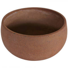 Architectural Pottery Stoneware Bowl by David Cressey