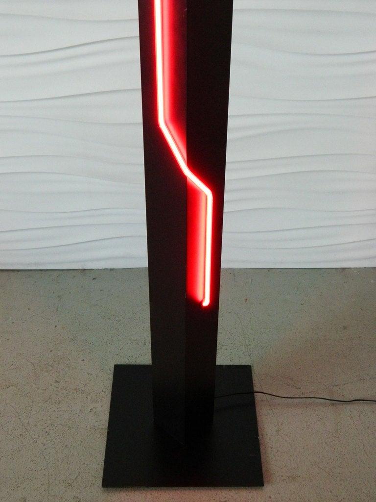 George Kovacs Neon Floor Lamp At 1stdibs