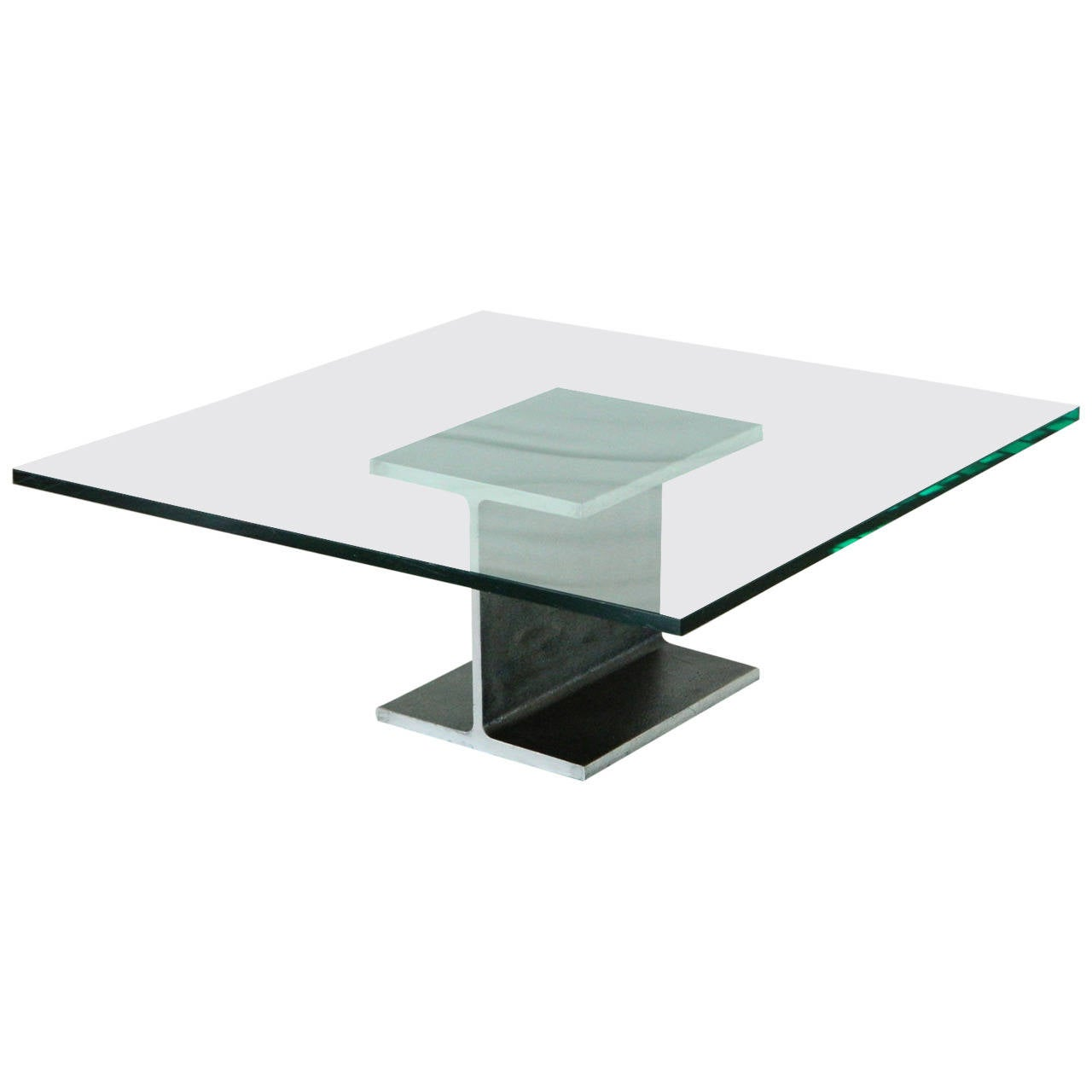 I-Beam Coffee Table in the style of Ward Bennett
