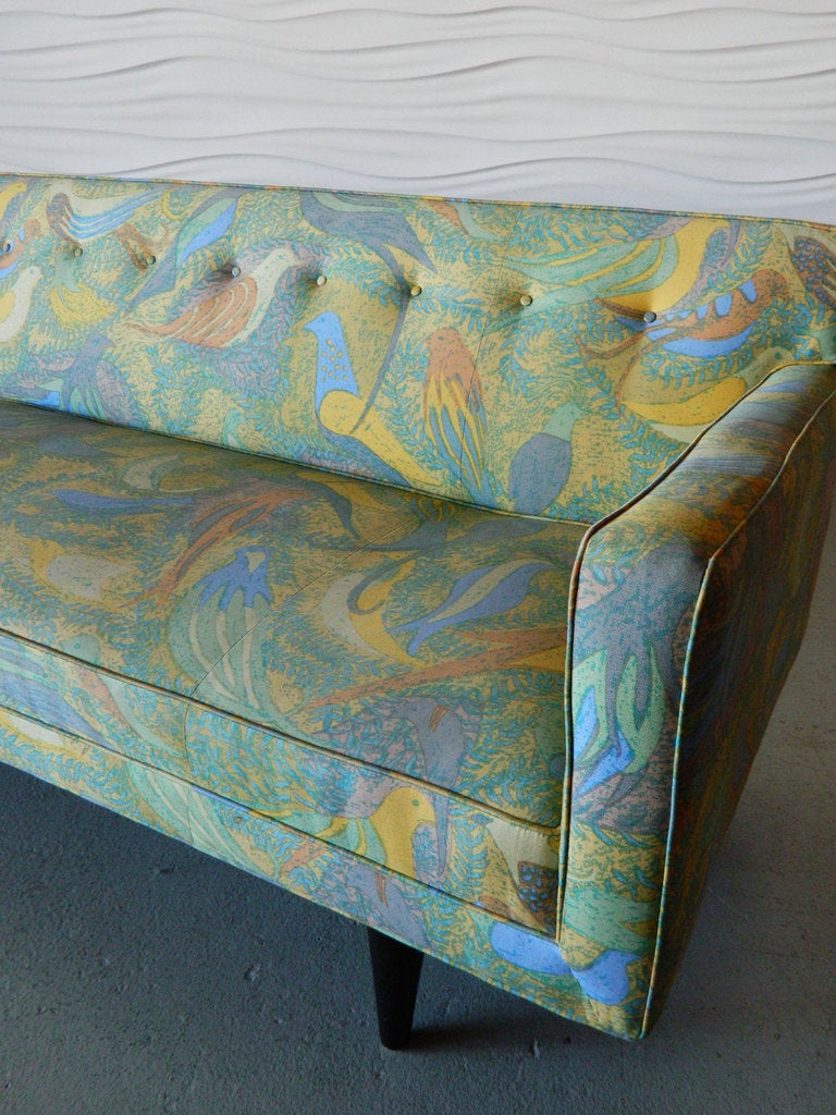 American Mid Century Modern Sofa in the style of Paul McCobb In Good Condition For Sale In Baltimore, MD