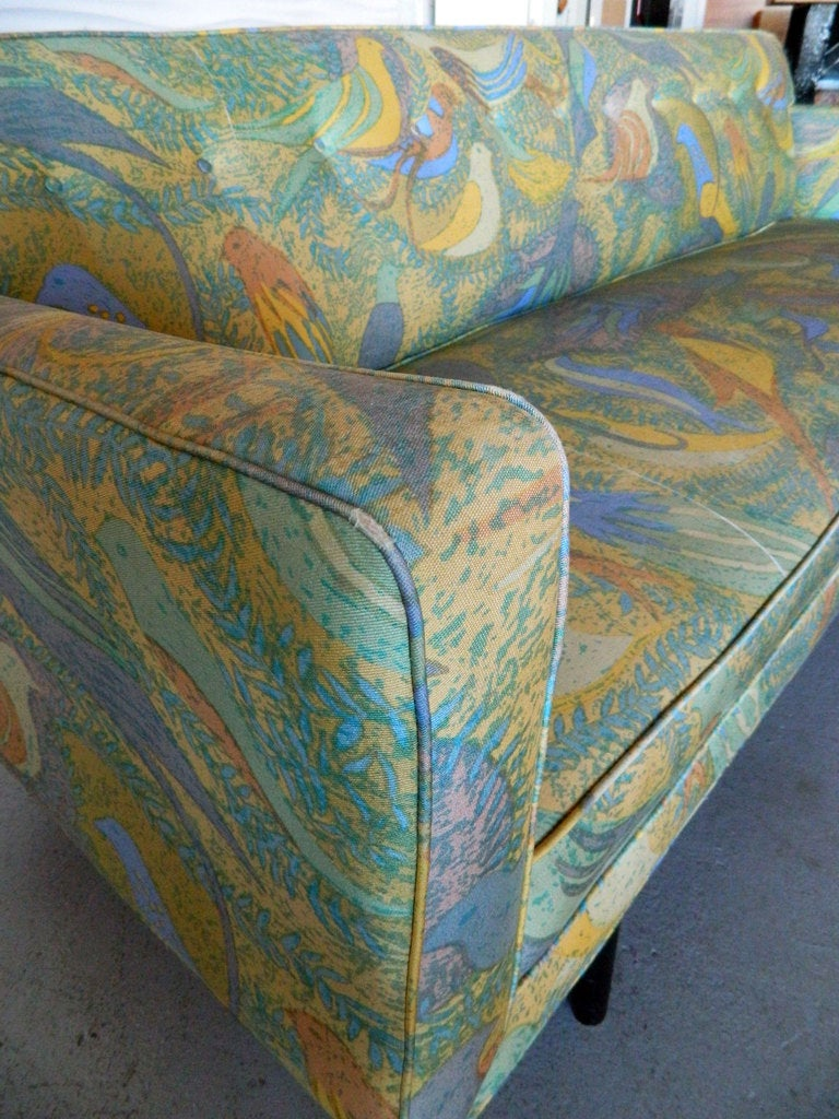 American Mid Century Modern Sofa in the style of Paul McCobb For Sale 1