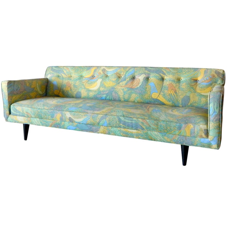 American Mid Century Modern Sofa In The Style Of Paul