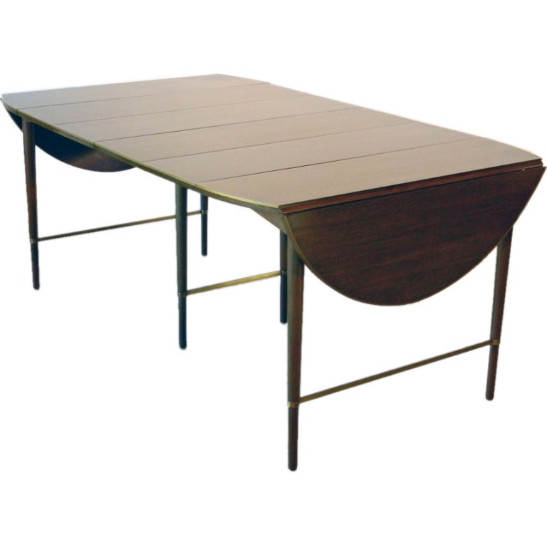 Paul mccobb connoisseur drop leaf dining table at 1stdibs for Dining room tables drop leaf
