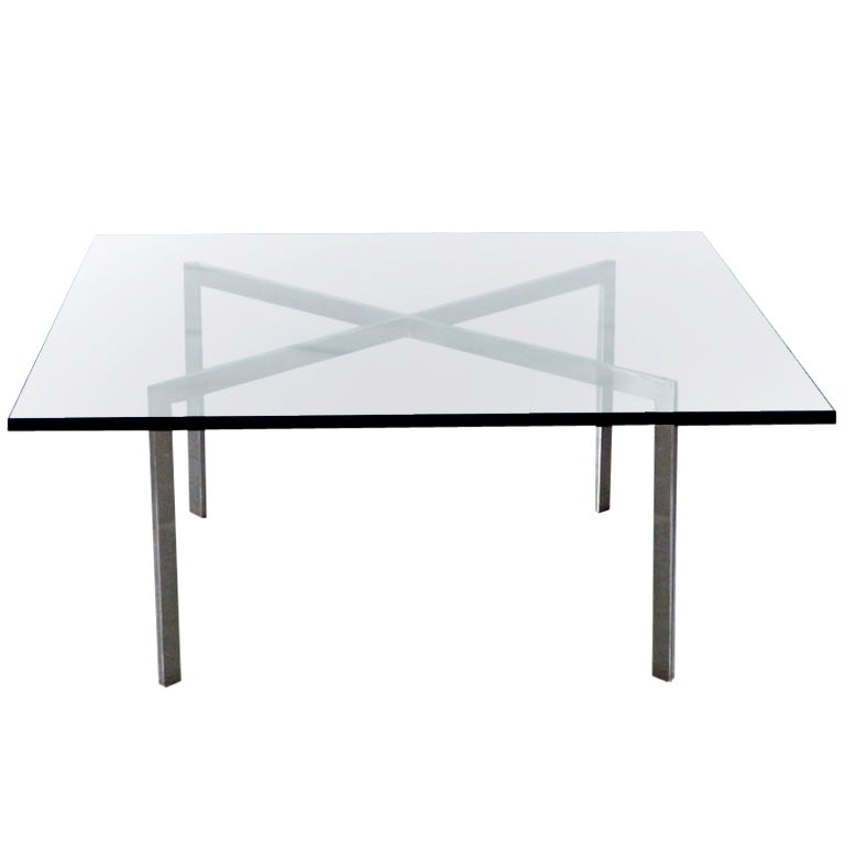 Vintage Mies Van Der Rohe Barcelona Coffee Table At 1stdibs