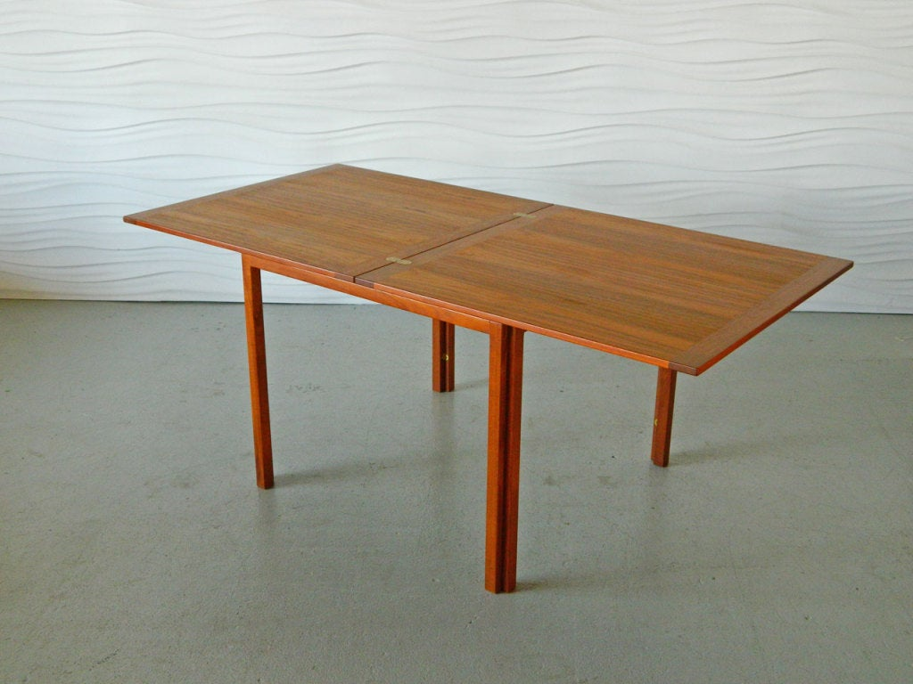 Danish Teak Butterfly Dining Table At 1stdibs