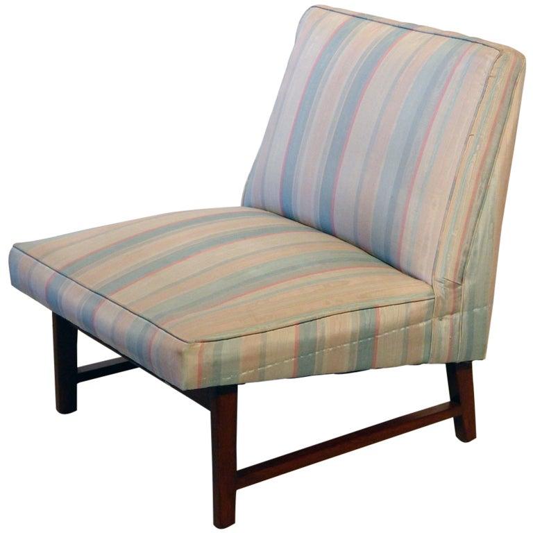 Edward wormley dunbar slipper chair at 1stdibs - Edward wormley chairs ...