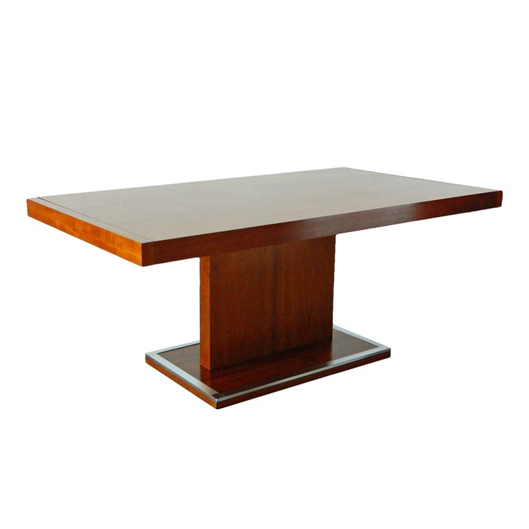 Warren Platner Style Dining Table Desk At 1stdibs