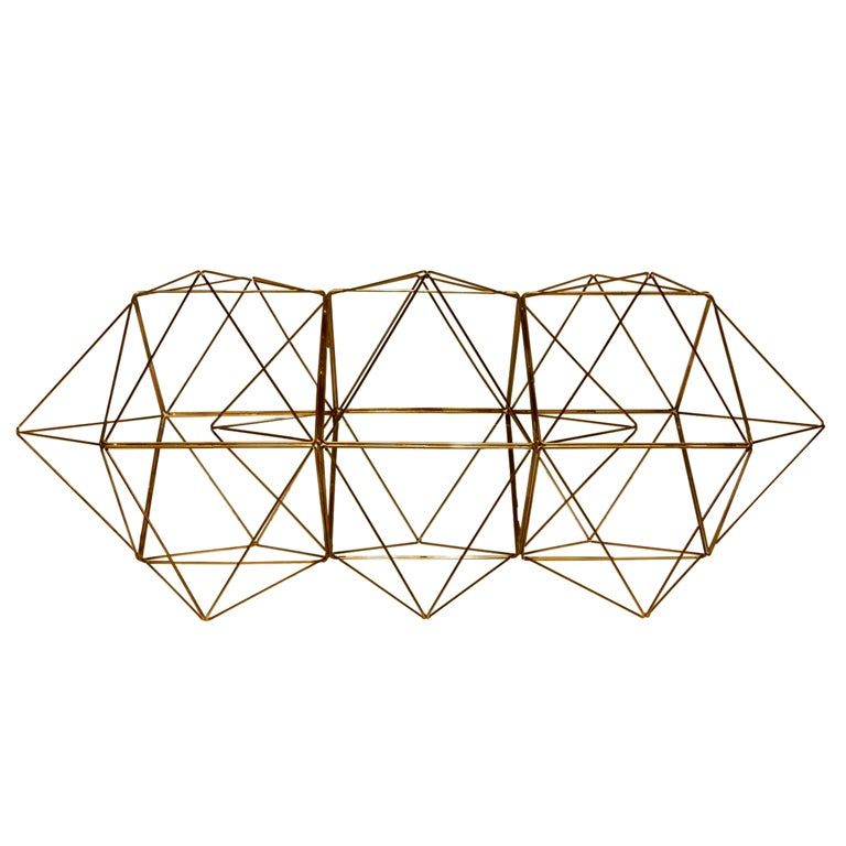 Geometric Wire Sculpture For Sale At 1stdibs