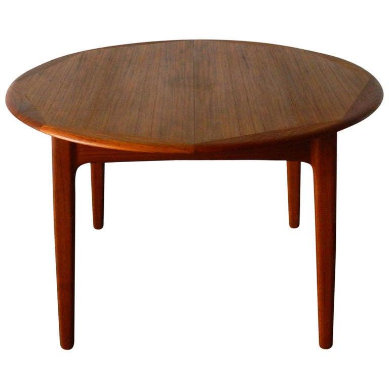 This Mid Century Modern Danish Teak Dining Table Is No Longer