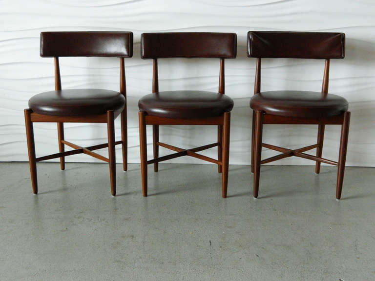 Ib Kofod Ln G Plan Teak Dining Chairs 3
