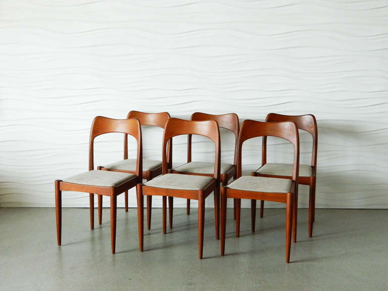 mid century modern indian teak dining chairs is no longer available