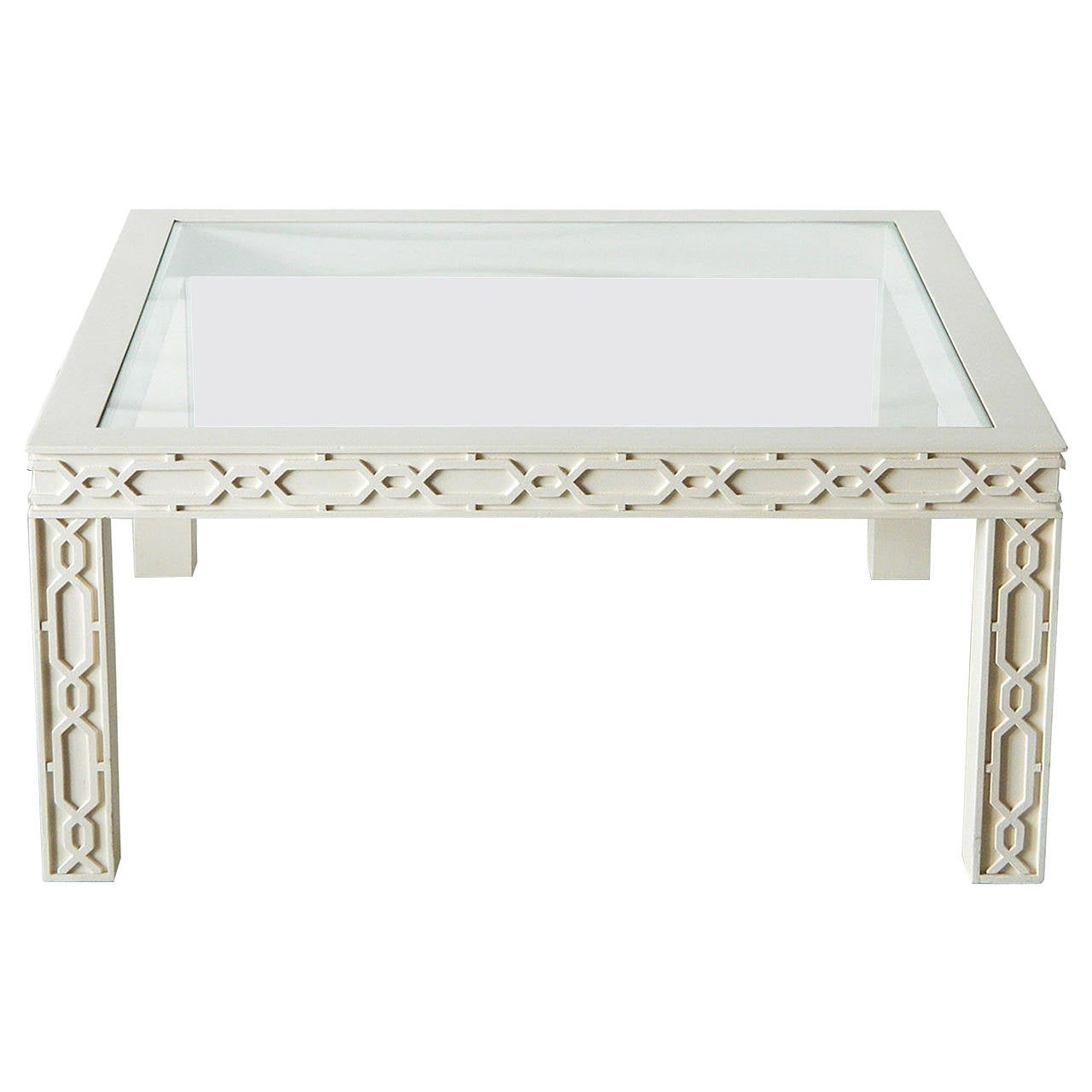 Lattice Coffee Table For Sale At 1stdibs