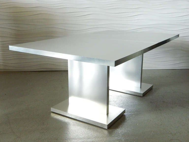 Dining Table Aluminum Clad Dining Table