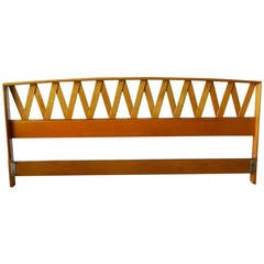 Paul Frankl Maple King Headboard