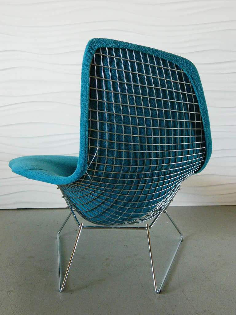 Harry bertoia asymmetric chaise by knoll at 1stdibs for Chaise bertoia knoll prix
