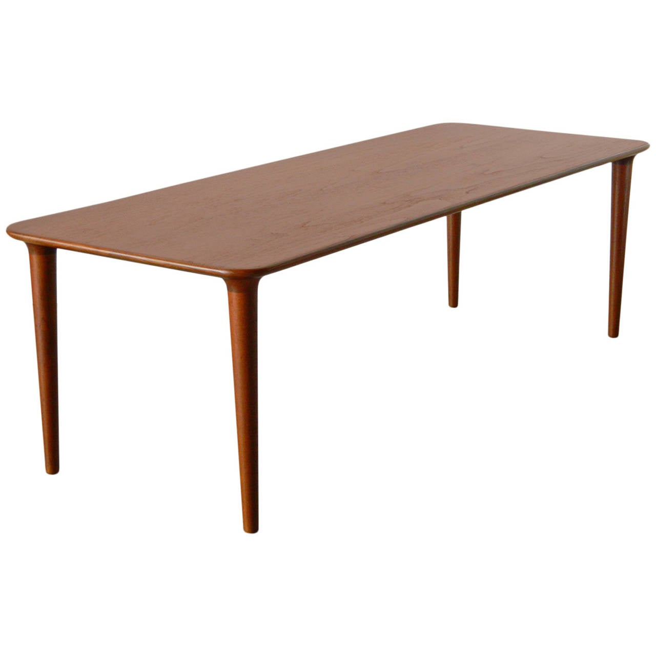 Gustav Bahus Solid Teak Coffee Table For Sale At 1stdibs