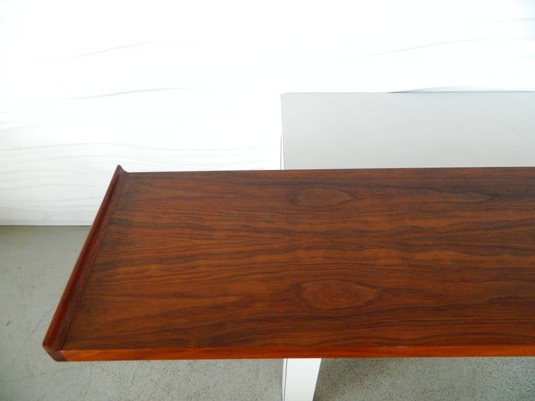 American Mid Century Modern Floating Shelf Console At 1stdibs