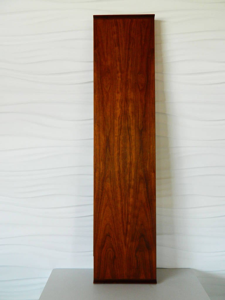 American Mid-Century Modern Floating Shelf Console For Sale at 1stdibs