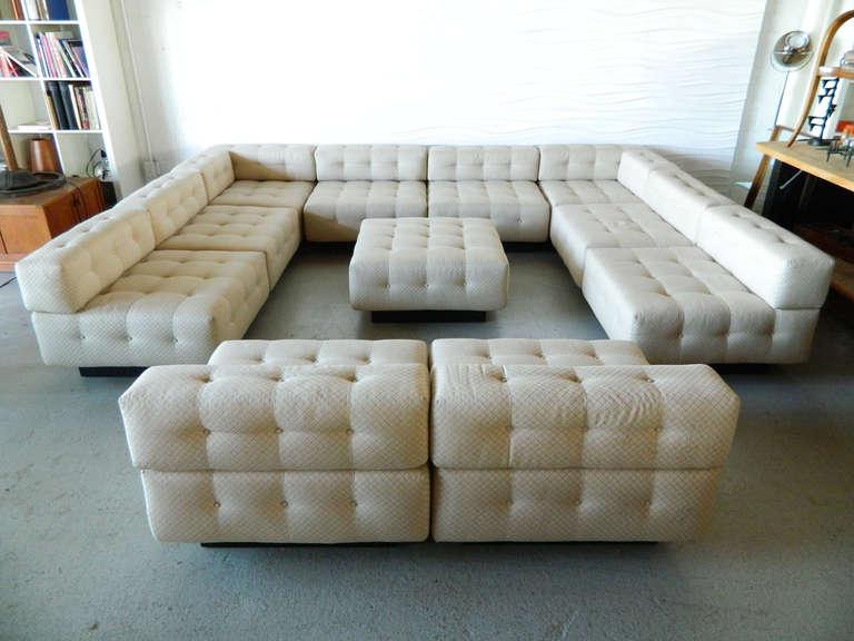 Magnificent Harvey Probber 11 Piece Sectional Sofa At 1Stdibs Customarchery Wood Chair Design Ideas Customarcherynet