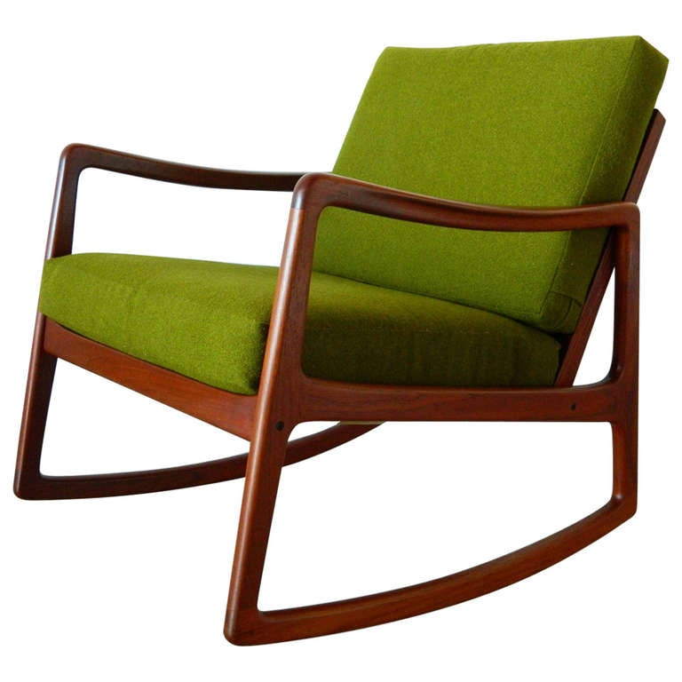 this mid century danish modern rocker by ole wanscher is no longer