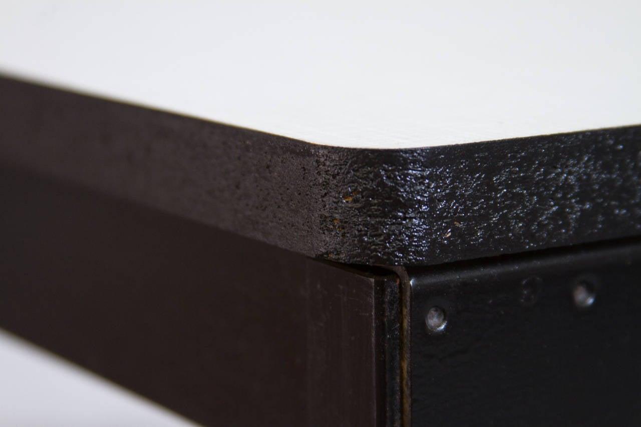 Formica Friso Kramer for Ahrend de Cirkel Industrial School Desk For Sale