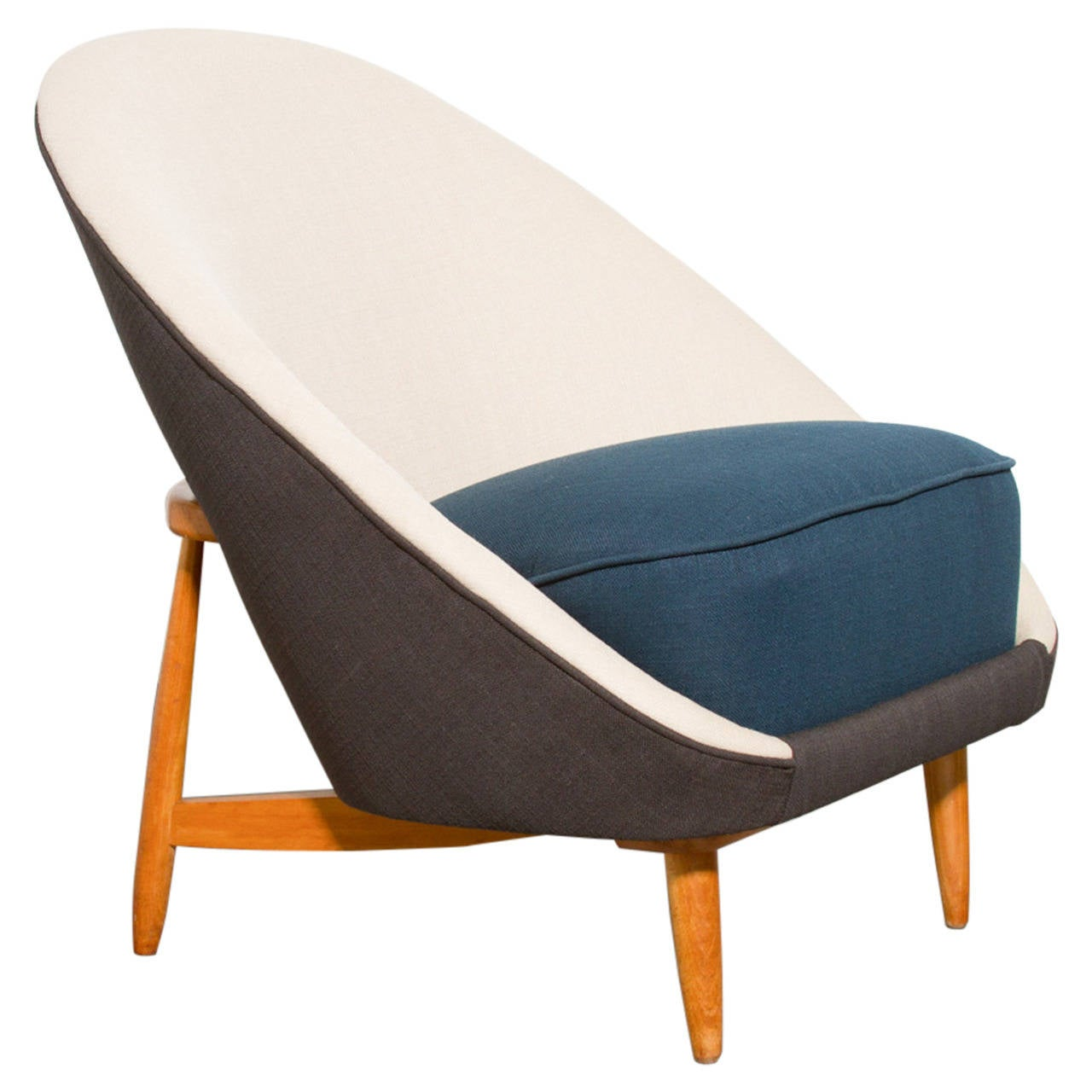Theo Ruth For Artifort Model 115 Small Lounge Chair