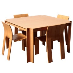 Gijs Bakker for Castelijn Dining Set