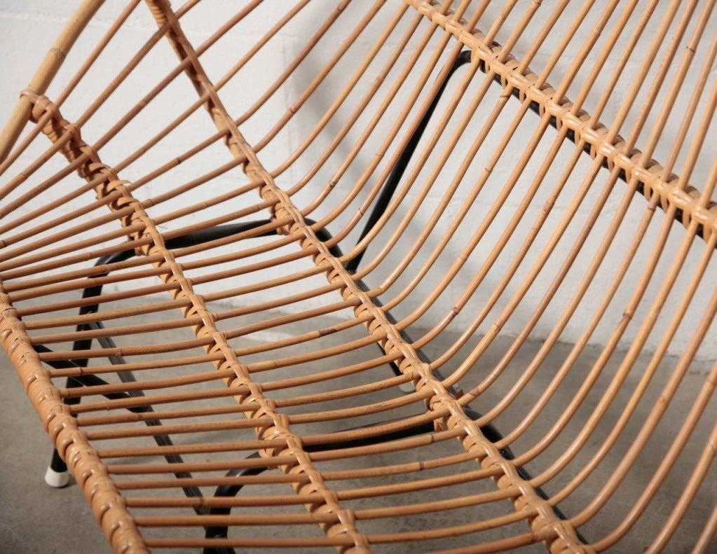 Retro Bamboo Sofa Set At 1stdibs