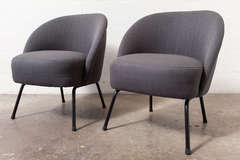 Pair of Petite Pastoe Lounge Chairs