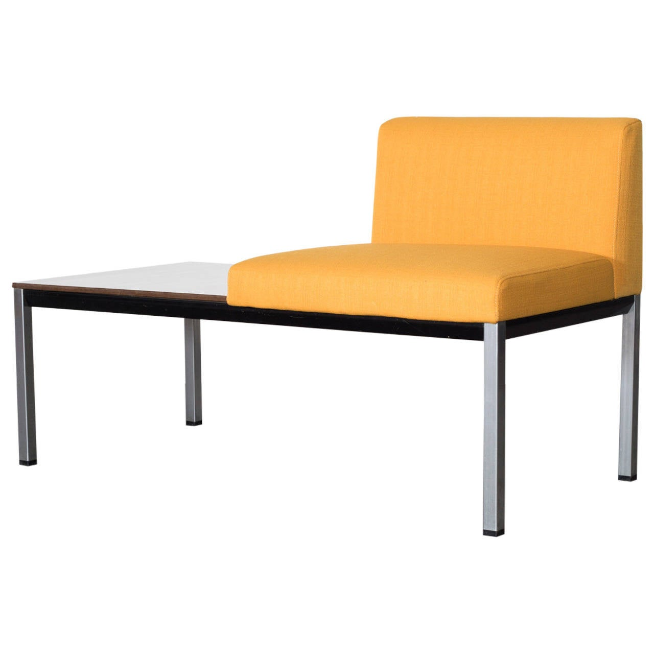 Friso Kramer Quot Facet Quot Bench With Side Table At 1stdibs