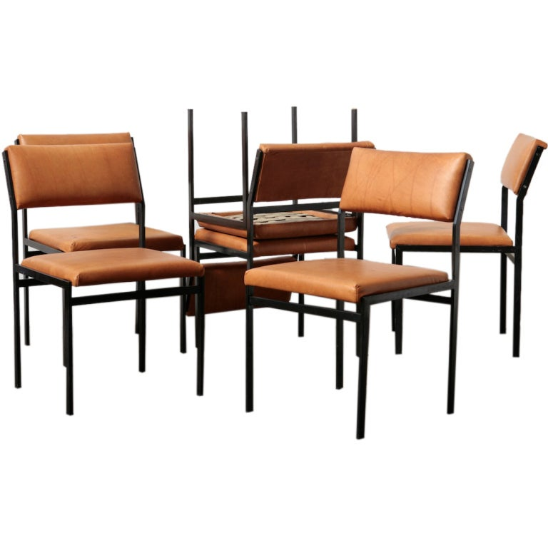 Cees Braakman Japanese Series Dining Chairs At 1stdibs