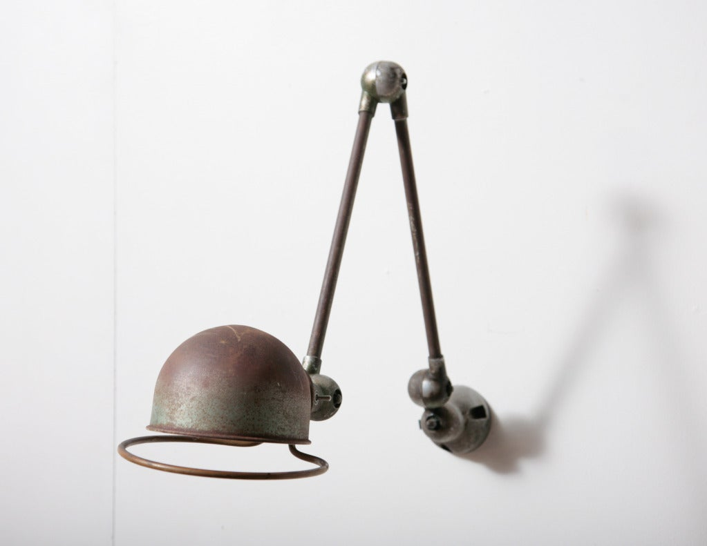 Jielde Industrial Wall Mount Task Lamp At 1stdibs