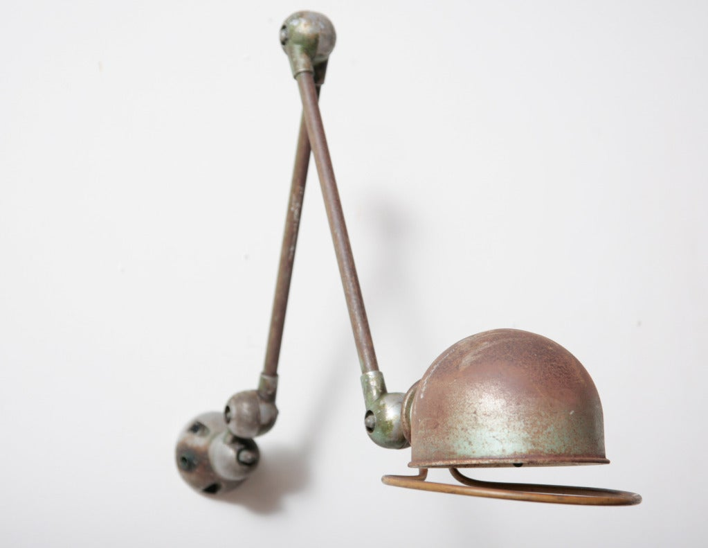 Wall Mount Task Lamp : Jielde Industrial Wall Mount Task Lamp at 1stdibs