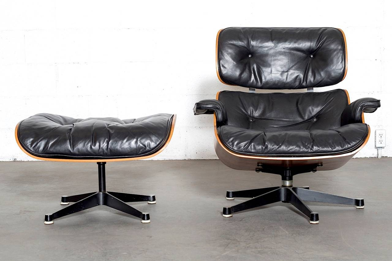 this rosewood eames lounge chair by herman miller and vitra is no. Black Bedroom Furniture Sets. Home Design Ideas
